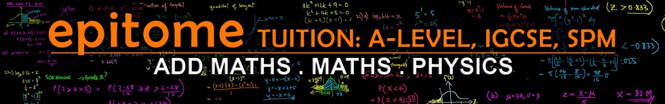 SPM IGCSE Online Tuition : Free Lessons for Add Math and Physics